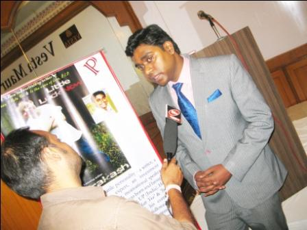 Nitya Prakash with News Channels