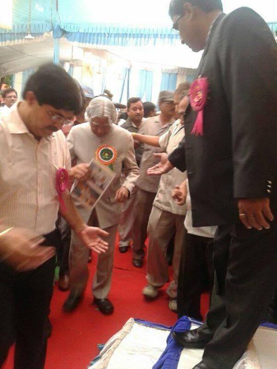 Dr.Kalam at NBF