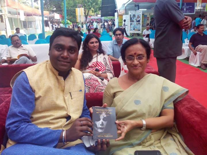 Nitya Prakash with Rita Bahuguna Joshi Ji
