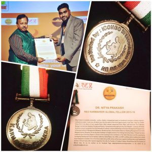 Karmaveer Chakra Award!