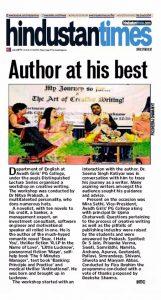 Nitya Prakash at AGDC - Hindustan Times