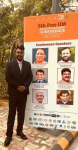 Dr. Nitya Prakash at IIM