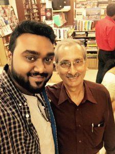 Dr. Nitya Prakash with Pradeep Sharma(DD)