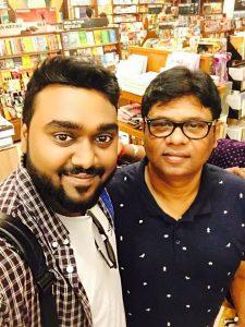 Dr. Nitya Prakash with Sandeep Nath