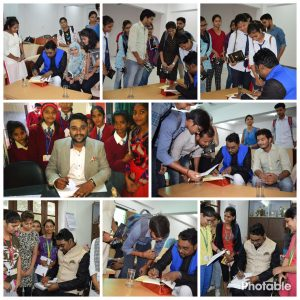 Dr. Nitya Prakash autograph sessions