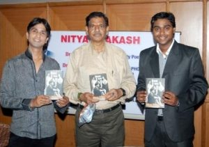 Dr. Nitya Prakash with Dr. Kumar Vishwas